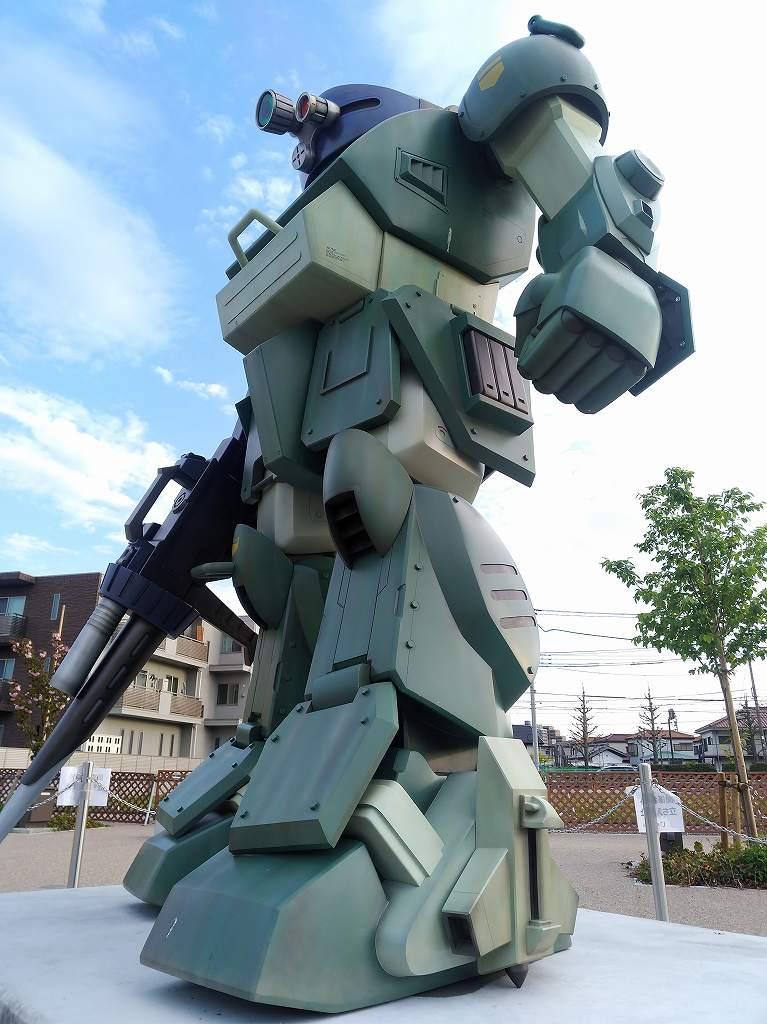 「装甲騎兵ボトムズ」の「スコープドッグ」像