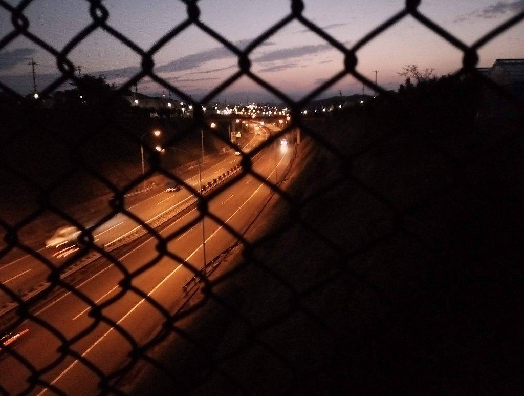 中央道の夜景