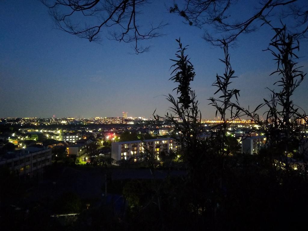 日野市の夜景