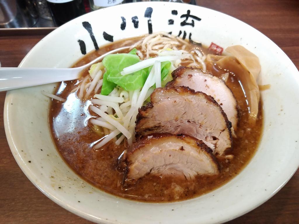 小川流、半ちゃーしゅー麺